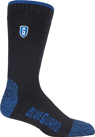 SockShop Blueguard Anti-Abrasion Durability Heavy Duty Work Socks Available in 4 Sizes and 2 Colours (12-14 uk, Blue)