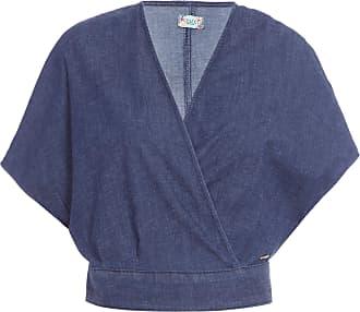 Colcci Blusa Jeans - Azul