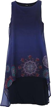 Desigual Vestido Desigual Curto Sabrinnne Azul-Marinho