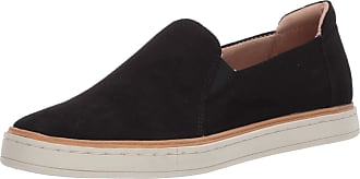 Naturalizer Womens Kemper Sneakers Loafer, Black, 9.5 Wide
