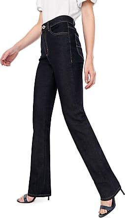 Malwee Calça Jeans Malwee Reta Pespontos Azul-marinho