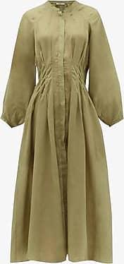 Three Graces London Valeraine Dress in Khaki