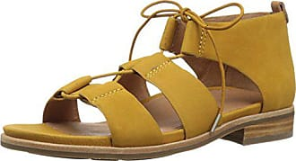 Gentle Souls by Kenneth Cole Womens Fina Lace-Up Sandal Sandal, honey, 8.5 M US