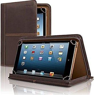 SOLO Solo Premiere Leather Universal Tablet Case, 8.5 Inch to 11 Inch, Espresso