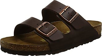 Marron Normal Flor mixte Sandales 41 Birkenstock Foncé Arizona 51701 Birko adulte Marron TqwTOaB