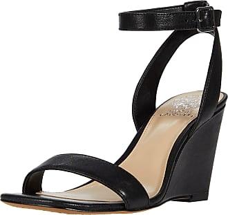 Vince Camuto Womens Gallanna Wedge Sandal Platform, Black, 6.5 UK