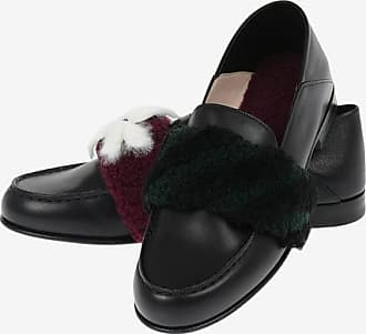 Fendi Loafers with Shearling Details Größe 38