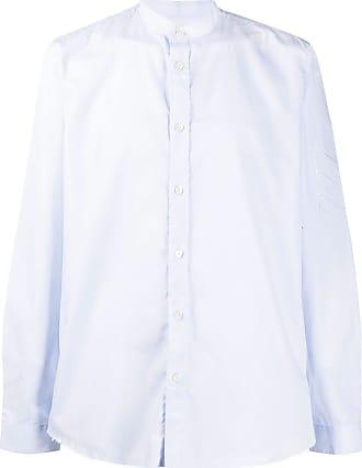 Zadig & Voltaire mandarin collar shirt - Blue