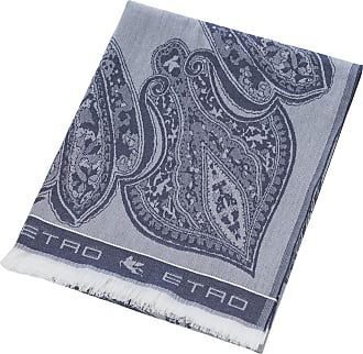 Etro Smithtown Paisley Throw - 150x180cm - Blue