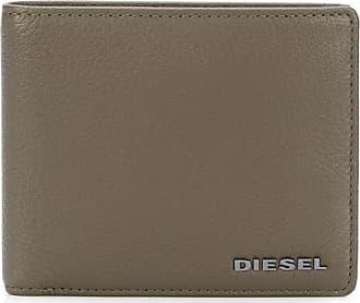 Diesel Carteira dobrável com logo - Cinza