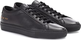premium selection 6e242 9320c Damen-Leder Sneaker in Schwarz: Shoppe bis zu −75% | Stylight
