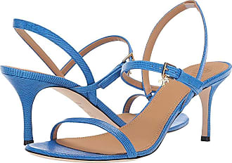 ff2b1235299 Tory Burch 65 mm Penelope Slingback Sandal (Bright Tropical Blue) Womens  Shoes