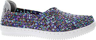 bernie mev. Womens Jim Elle Slip-On Sneaker (Paisley, 4)