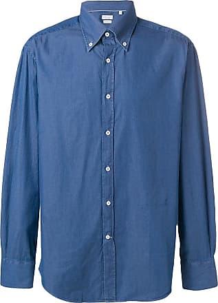 Brunello Cucinelli Camisa com botões - Azul