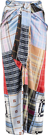 Ganni check patchwork skirt - Multicolour