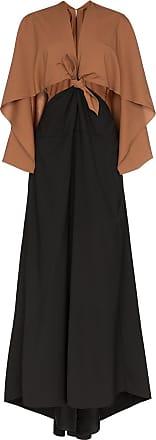 Rosie Assoulin Vestido longo com nó - Preto