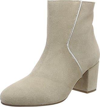 319ea933 Marc O'Polo Mid Heel Bootie 80114176101300, Botas Plisadas para Mujer, Gris  (