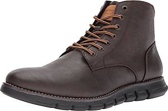 Kenneth Cole Reaction Mens Design 20755 Combat Boot, Brown, 11 M US