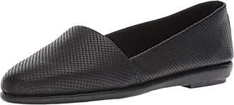 Aerosoles Womens MS Softee Shoe, Black Leather, 11 M US