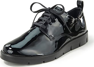 Ecco Lace-up shoes Bella in cowhide patent leather Ecco black