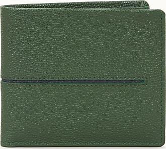 Mandarina Duck Mellow Leather Wallet with Flap L Portefeuille jelly bean vert