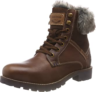 ccb803bc242 Dockers by Gerli Womens 41hl306 Combat Boots Brown (Cafe 320) 7 UK