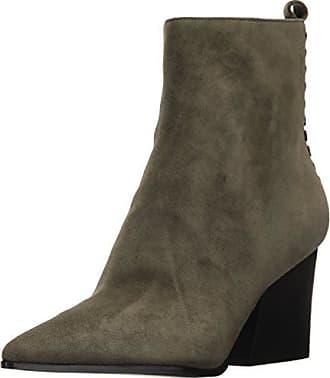 Kendall + Kylie Womens Felix Ankle Boot, Khaki Green, 7.5 Medium US