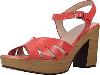 Wonders Women Sandals and Slippers Women L9163 Orange 5.5 UK