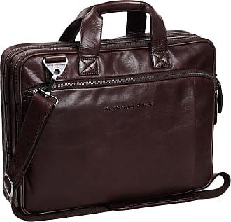CHESTERFIELD Umhängetasche Schultertasche Leder Tasche RANGER Laptop Aktentasche
