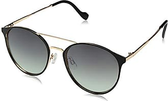 Jessica Simpson Womens J5564 Oxgld Non-Polarized Iridium Aviator Sunglasses, Black Gold 60 mm