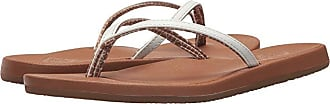 Freewaters Solana (White/Tan) Womens Shoes