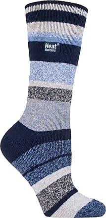 37-42 5-9 us Ladies Original Heat Holders Thermal Boot Socks Plain Navy 4-8 uk