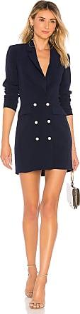 Superdown Madeline Blazer Dress in Navy