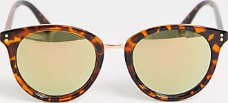 7X SVNX Narrow Cateye Sunglasses-Brown