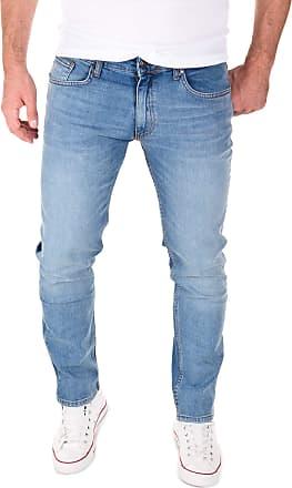 Yazubi Mens Jeans for Man Jean Men Straight Pants Akon Trousers Slim Fit Leg Casual Used Skinny, Blue (Flint Stone 183916), W30/L34