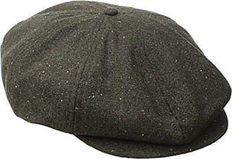Brixton Mens Brood Newsboy Snap Hat, Brown/Dark Cream, X-Large