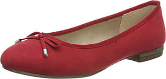 Marco Tozzi Womens 2-2-22135-34 Ballet Flats, Red (Red 500), 3.5 UK