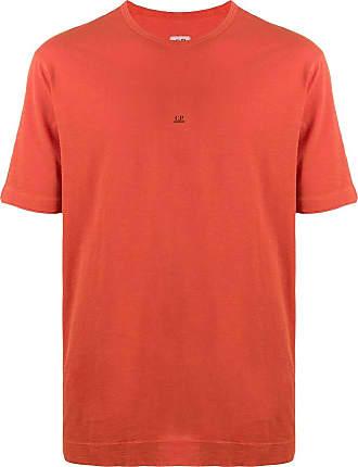 C.P. Company Camiseta com estampa de logo - Laranja