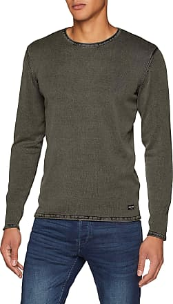 Only & Sons Mens Onsgarson 12 Wash Crew Neck Knit Noos Jumper, Green (Olive Night Olive Night), XX-Large