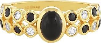 Juwelo Onyx Ring Onyx Schmuck Onyx Schwarz
