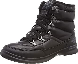 97b4fb15 The North Face Thermoball Lace II, Botas de Nieve para Mujer, Negro (Shiny