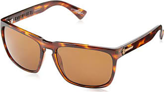 3395789a6c4f8 Electric Visual Knoxville XL Gloss Tortoise OHM Polarized Bronze Sunglasses