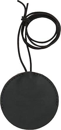 Uma Wang round keyring - Black