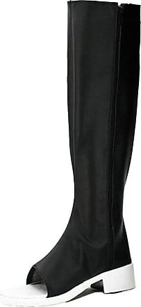Cosstars NARUTO Konan Anime Cosplay Shoes Boots