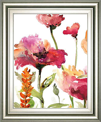 Classy Art Blooms And Greens Framed Wall Art - 8287