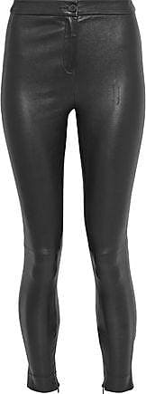 Robert Rodriguez Robert Rodriguez Woman Leather Leggings Black Size XS