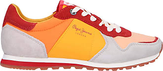 Pepe Jeans London Women Sports Shoes PLS30796 VERONAPANTONE 117 Fresh Orange Size 6 UK