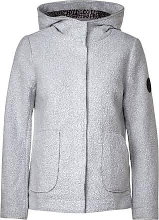 Cecil Jacke in Curly Woll-Optik - mineral grey melange
