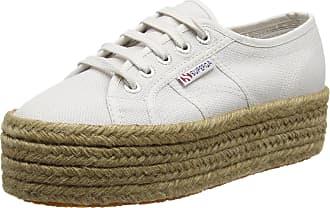 Superga Unisex Adults 2790 Cotropew Espadrille Shoes, Grey (Grey), 3.5 UK 36 EU