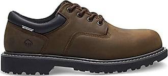 Wolverine Mens Floorhand Oxford Steel Toe Construction Shoe, Brown, 13 M US